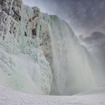 Will Gadd Completes Historic First Ice Climb up Niagara Falls