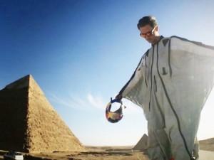 Cedric Dumont Wingsuit Pyramids