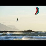 Kiteboarders Get Massive Air In South Africa