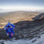 Valery Rozov BASE Jumps From Mount Kilimanjaro